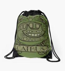 Catbus Nouveau Drawstring Bag