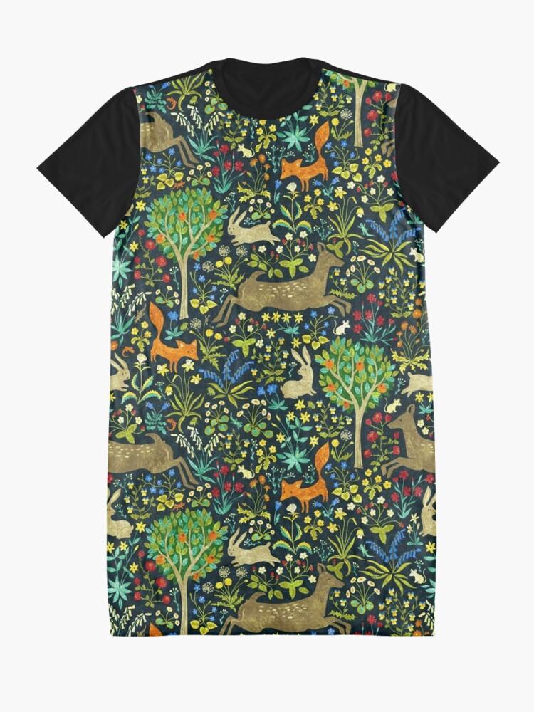 Alternate view of Arazzo Medievale Graphic T-Shirt Dress