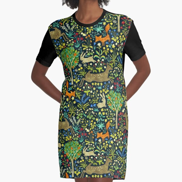 Arazzo Medievale Graphic T-Shirt Dress