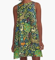 Arazzo Medievale A-Line Dress