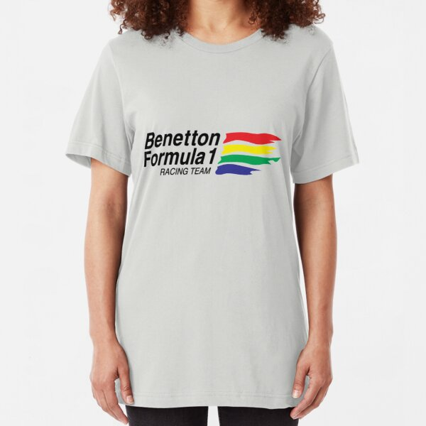 Benetton Formula 1 Racing Team  Slim Fit T-Shirt