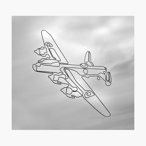 Avro Lancaster  WW2 heavy bomber Photographic Print