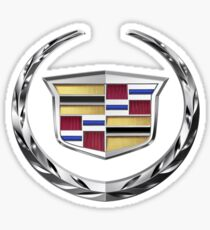 Cadillac Logo T shirt Original Official Sticker