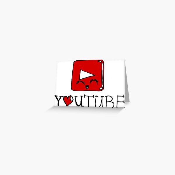 I love Youtube Grußkarte