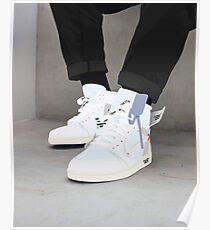 Jordanien 0ff Wh! Te Sneakers Poster
