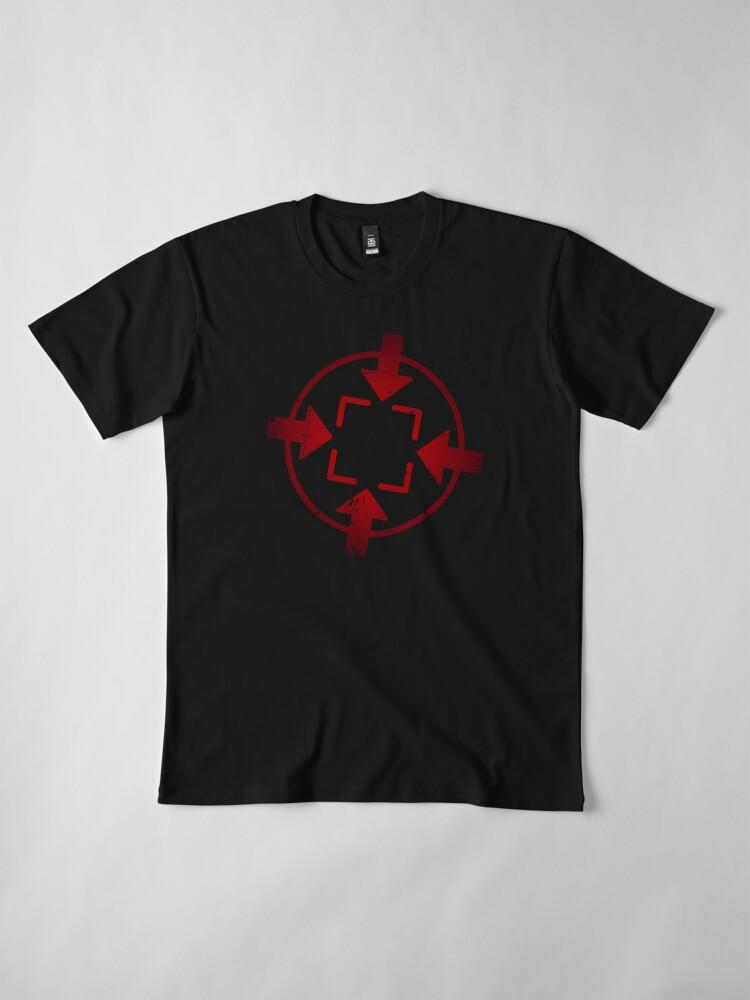 Alternate view of DZTV Solo Logo Premium T-Shirt