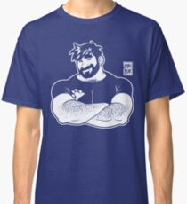 ADAM LIKES CROSSING ARMS - LINEART Classic T-Shirt