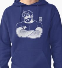 ADAM LIKES CROSSING ARMS - LINEART Pullover Hoodie