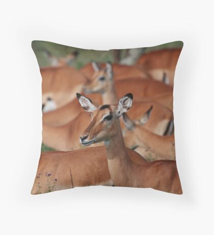 No, your other left! Throw Pillow