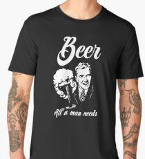 Beer - All a man needs Men's Premium T-Shirt