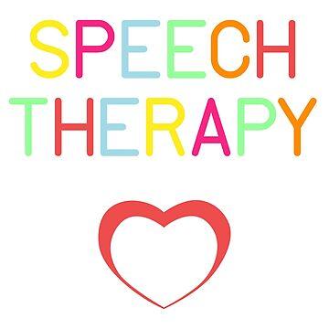 SLP Speech Language Pathology T-Shirt Speech Therapist gifts by QuinnShirt
