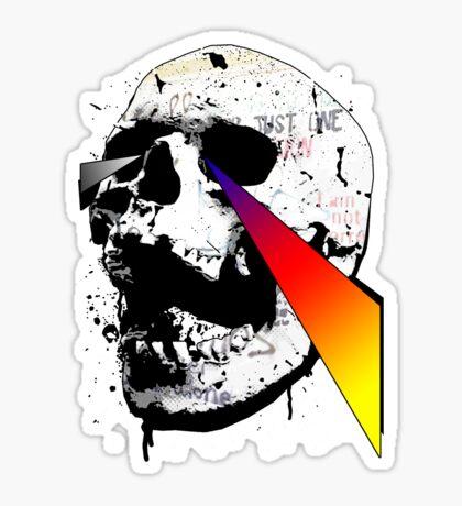 Get it through your Skull Sticker