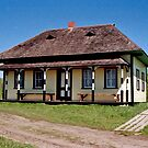 Yurko House, Ukrainian Cultural Heritage Village, Alberta, Canada by Adrian Paul