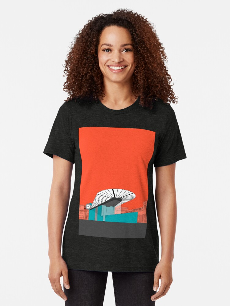Alternate view of Turquoise Island Tri-blend T-Shirt