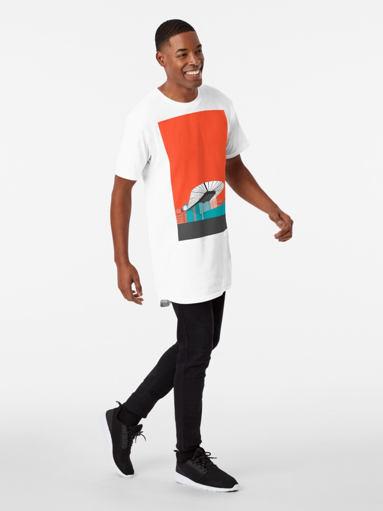 Alternate view of Turquoise Island Long T-Shirt