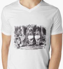 Tweedledee and Tweedledum Men's V-Neck T-Shirt