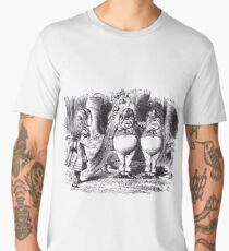 Tweedledee and Tweedledum Men's Premium T-Shirt