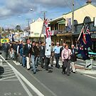ANZAC Day parade in Tenterfield 2005 by Philip Mitchell Graham