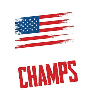 Undefeated World War Champs July 4th Shirt USA American Flag by QuinnShirt