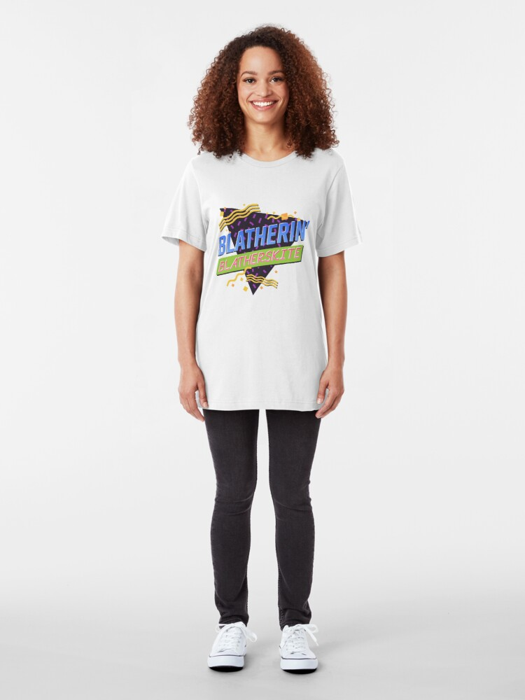 Alternate view of Blatherin' Blatherskite Slim Fit T-Shirt