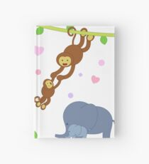 Outstanding Baby Animal 02 Hardcover Journal