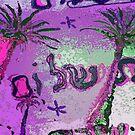 Pink shabbat shalom oasis by hdettman