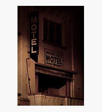 Creepy Hotel Photographic Print