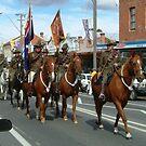 Australian Light Horse Regiment renenactment by Philip Mitchell Graham