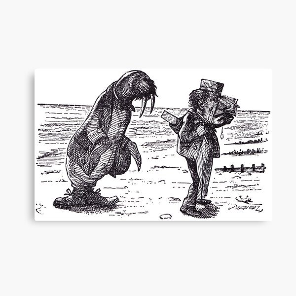 The Walrus and the Carpenter - 1 Canvas Print