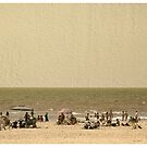 The beach by Lior Goldenberg