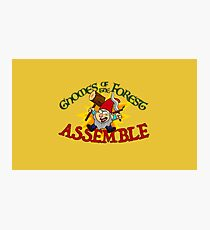 Gnomes of the Forest Photographic Print
