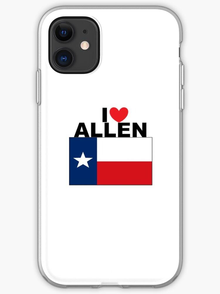 TEXAS LOVE iphone case