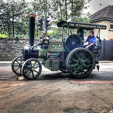 Classic Steam Engine by raytylerimages