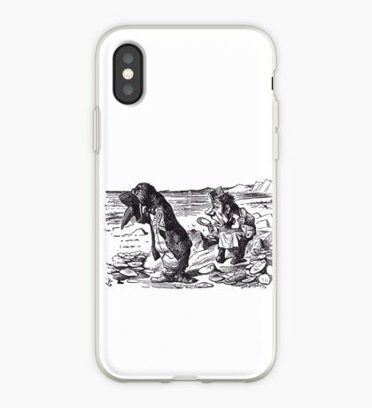 The Walrus and the Carpenter - 3 iPhone Case