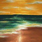 KIHEI SUNSET by WhiteDove Studio kj gordon