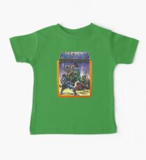 He-Man Masters of the Universe Battle Scene with Skeletor Baby Tee