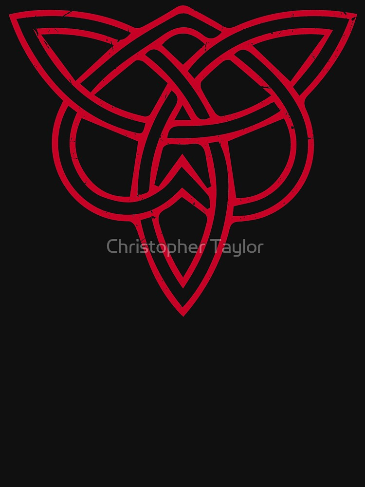 Upside Down Celtic Love Knot Trinity Catholicism Father And Son