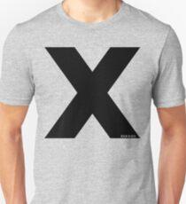 X [Black Ink] Unisex T-Shirt