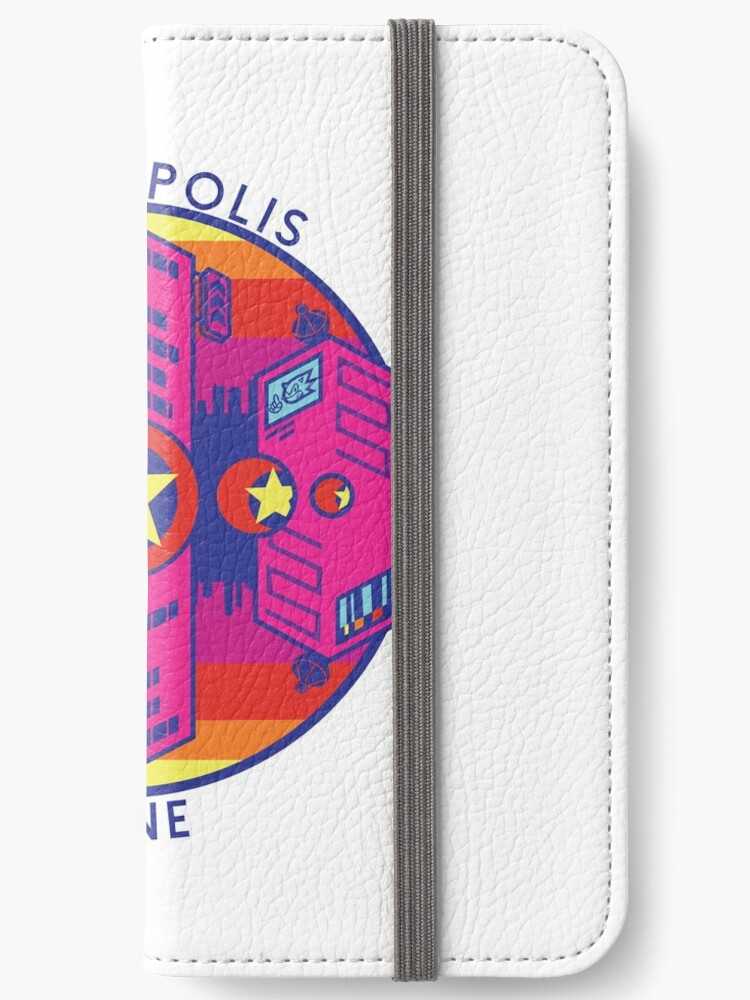 'Sonic Mania Studiopolis Zone Logo' iPhone Wallet by McGuy