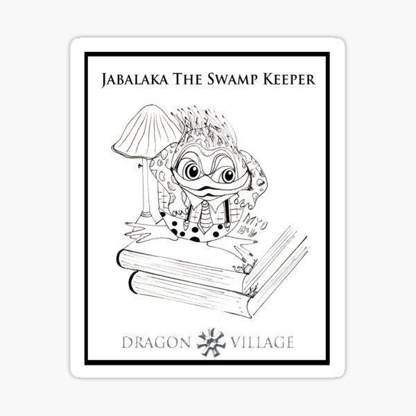 Jabalaka, The Keeper of Secrets Sticker