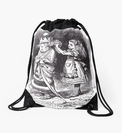 The White Queen Drawstring Bag