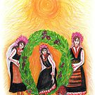 Eniovden, Midsummer's Day, Ceremony by aveela