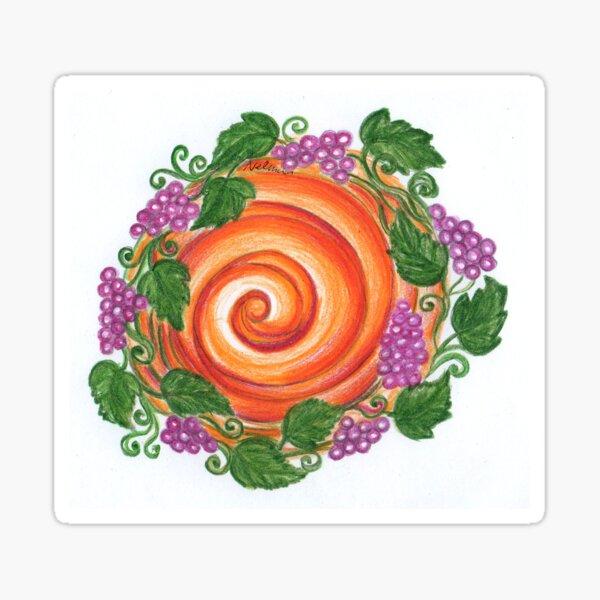 Fall Harvest Sticker
