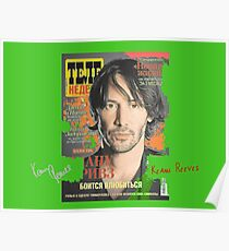 Keanu Reeves - Cover Tele Magazine Russia (by ACCI) Poster
