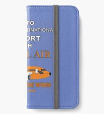Fly to Quahog International Airport wth Anal Air iPhone Wallet/Case/Skin