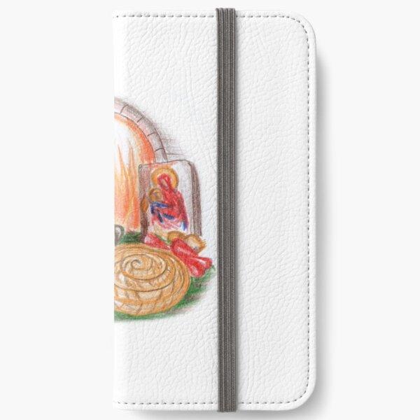 Budni Vecher, Christmas Eve, Celebration iPhone Wallet