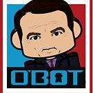 Huckaboo Politico'bot Toy Robot 3.0 by Carbon-Fibre Media