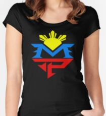 Manny 3 Women's Fitted Scoop T-Shirt