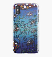 Aboriginal Turtle Journey iPhone Case/Skin