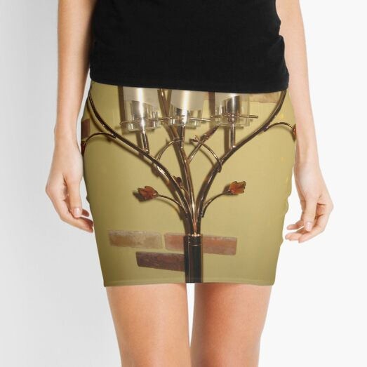 #Pattern, #design, #tracery, #weave, #drawing, #figure, #picture, #illustration Mini Skirt